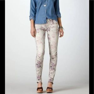 American Eagle Outfitters Jeans - AE Floral Skinny Jeans